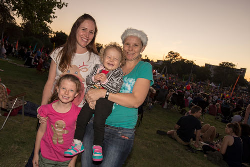 carols in the park