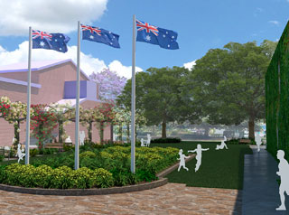 Toowoomba's Village Green is set to receive a facelift as part of works to upgrade the Civic Precinct.
